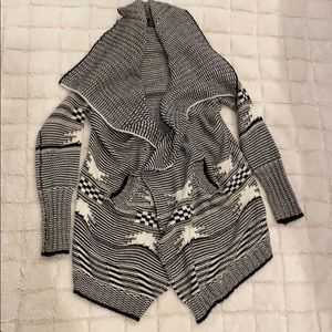 Windsor Sweaters - Cowl neck Cardigan Large